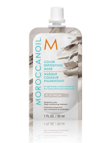 Moroccanoil Color Depositing Mask Platinum 30ml